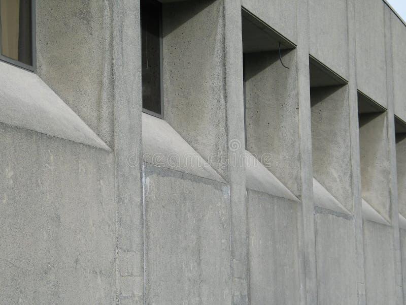 Edificio concreto imagen de archivo libre de regalías