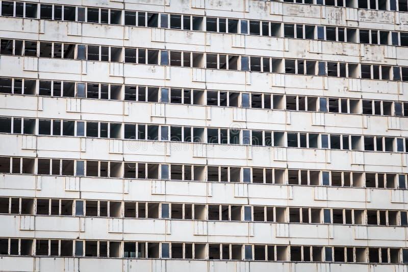 Edificio concreto vacío foto de archivo libre de regalías