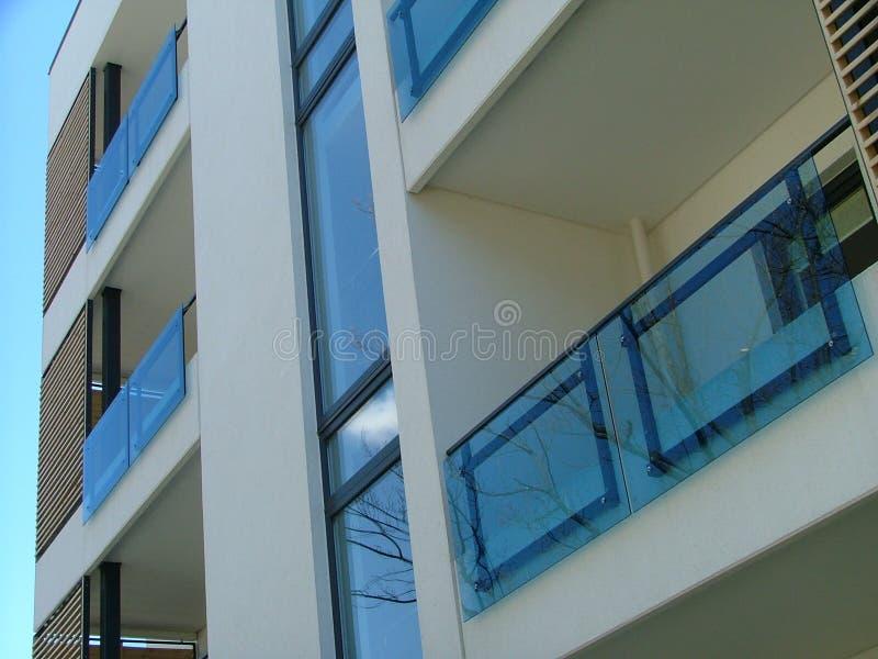 Edificio in condominio immagine stock
