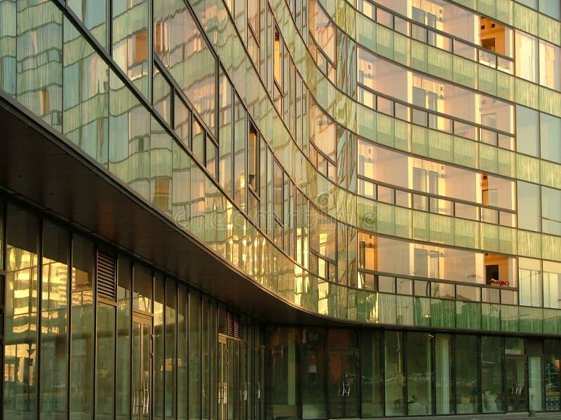 Edificio in condominio moderno fotografia stock