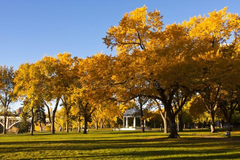 Edificio conmemorativo en Saskatoon, Canadá imágenes de archivo libres de regalías