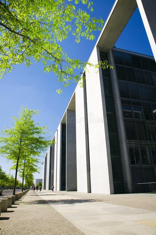 Edificio corporativo moderno fotografía de archivo