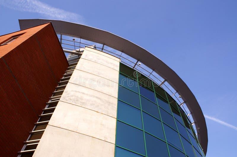 Edificio corporativo moderno foto de archivo