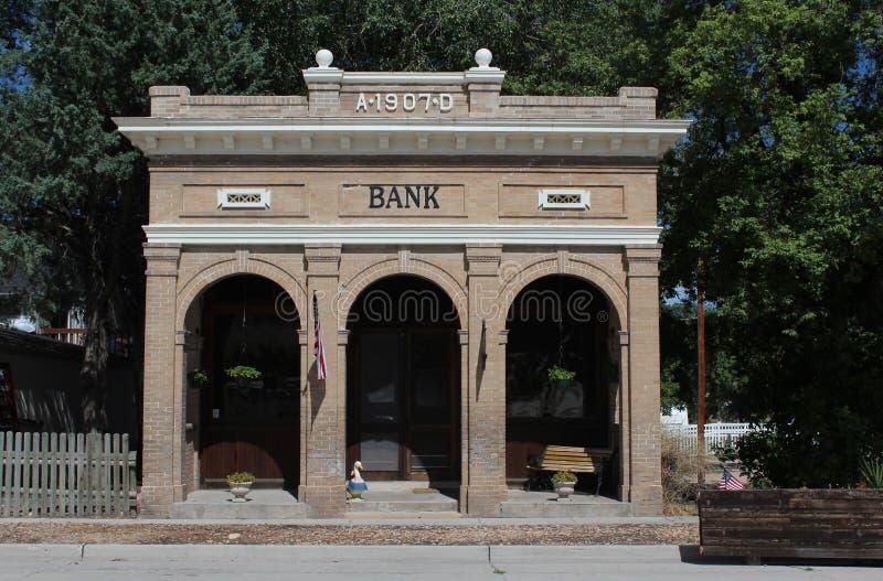 Edificio de banco fotos de archivo libres de regalías