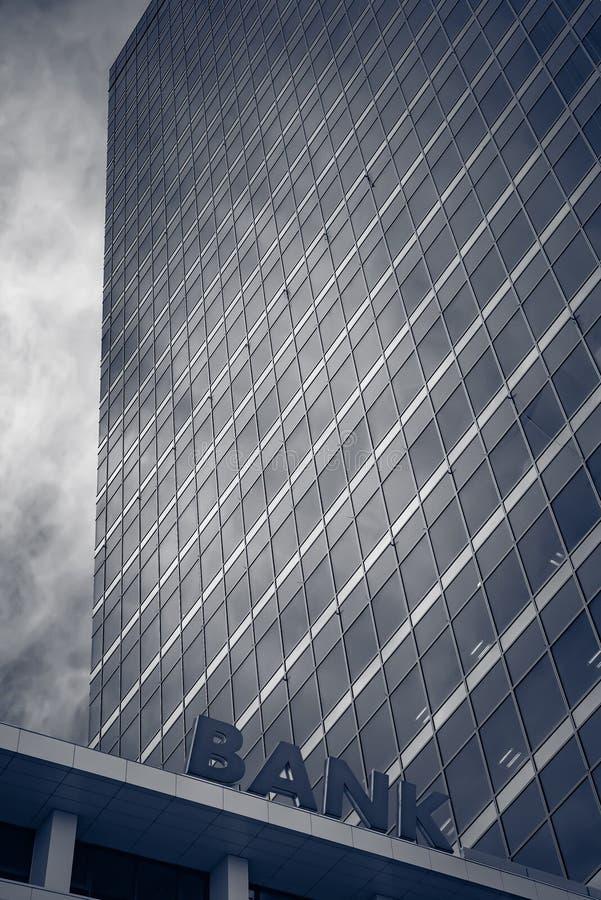 Edificio de banco foto de archivo libre de regalías