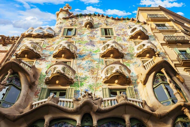 Edificio de Batllo de la casa en Barcelona imagen de archivo libre de regalías