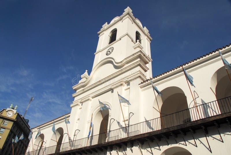 Edificio de Cabildo - Buenos Aires, la Argentina foto de archivo libre de regalías