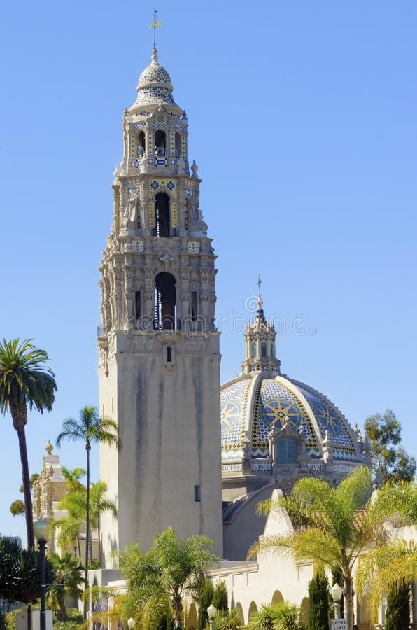 Edificio de California, parque del balboa imágenes de archivo libres de regalías