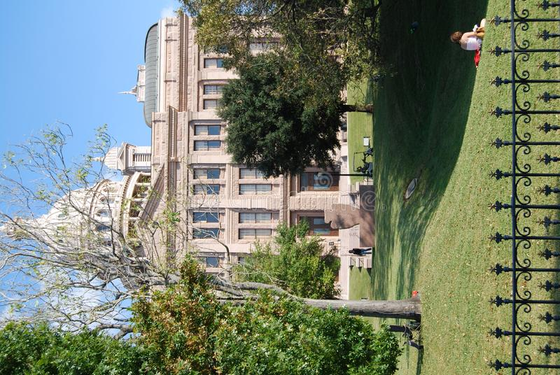 Edificio capital, Austin Texas fotos de archivo
