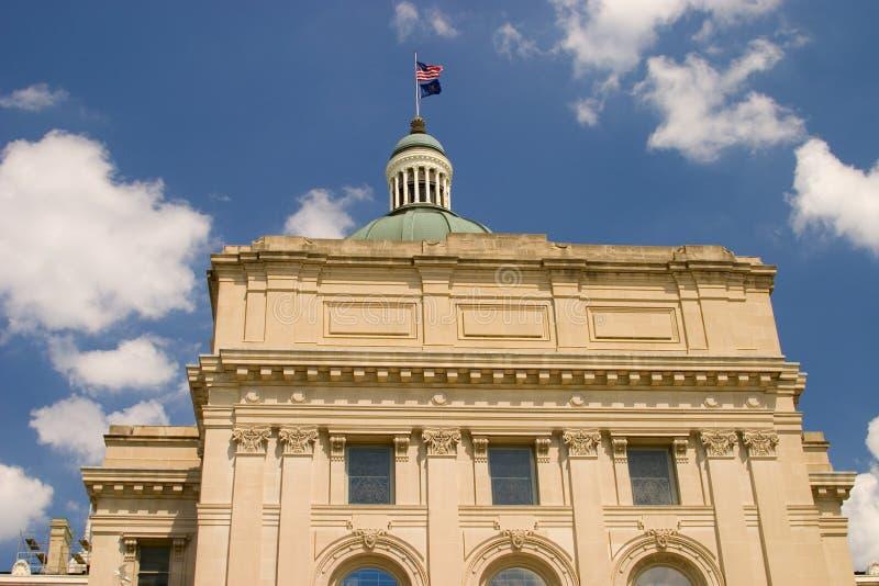 Edificio de capital de Indiana fotografía de archivo