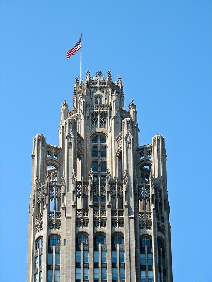Edificio De Chicago Tribune Foto de archivo - Imagen de oficina ...