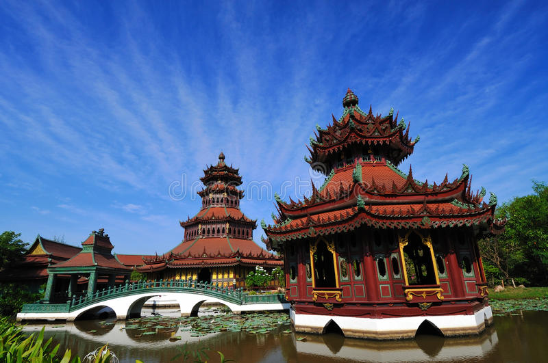Edificio de China. imágenes de archivo libres de regalías