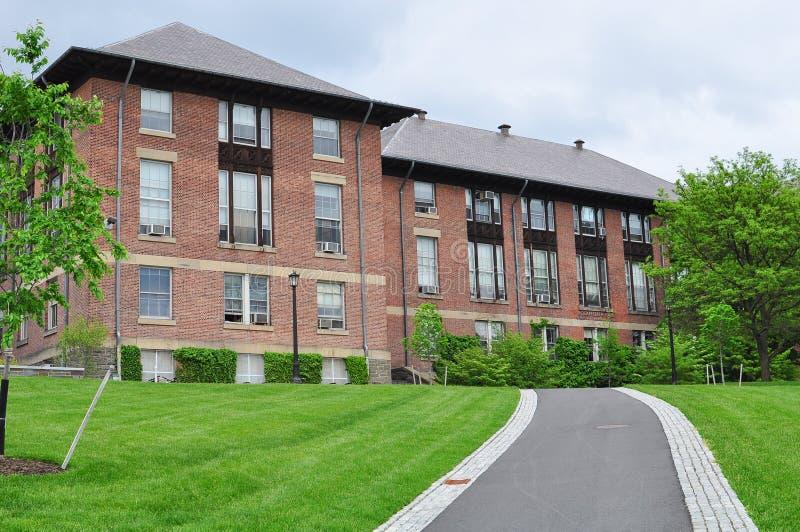 Edificio de Cornell Campus imagenes de archivo