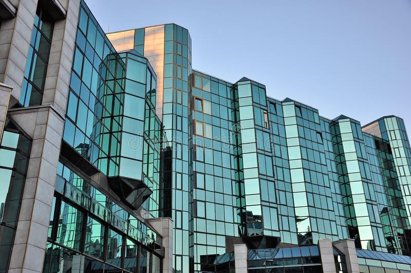 Edificio de cristal del negocio imagen de archivo