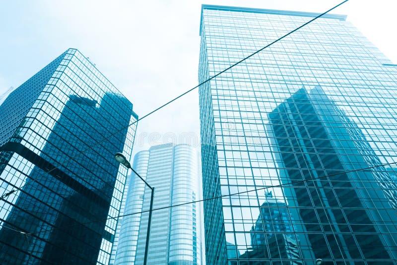 Edificio de cristal en Hong-Kong imagen de archivo libre de regalías