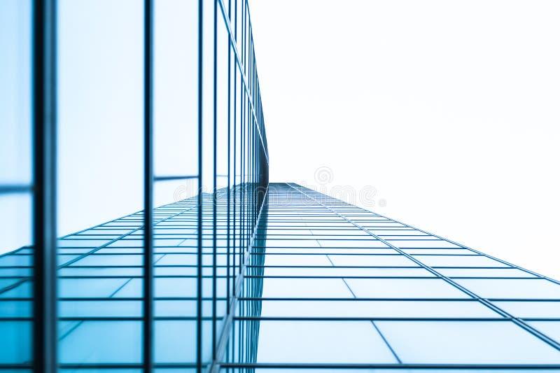 Edificio de cristal moderno imagenes de archivo
