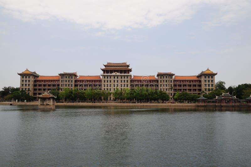 Edificio de Daonan, pueblo de la escuela de Jimei, Xiamen imagenes de archivo