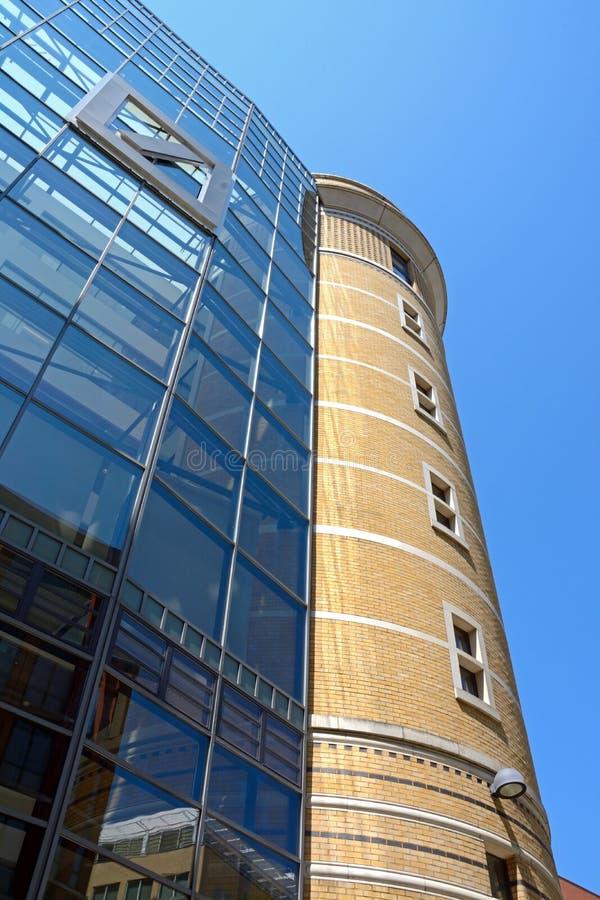 Edificio de Deutsche Bank, Birmingham fotografía de archivo