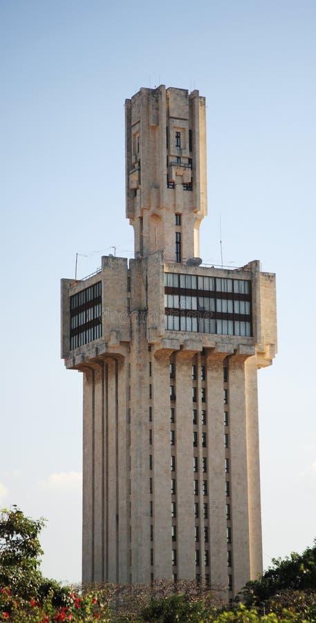 Edificio de embajada soviético anterior en Havana? fotos de archivo