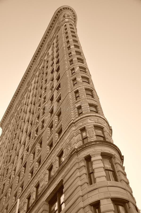 Edificio de Flatiron en New York City imagenes de archivo