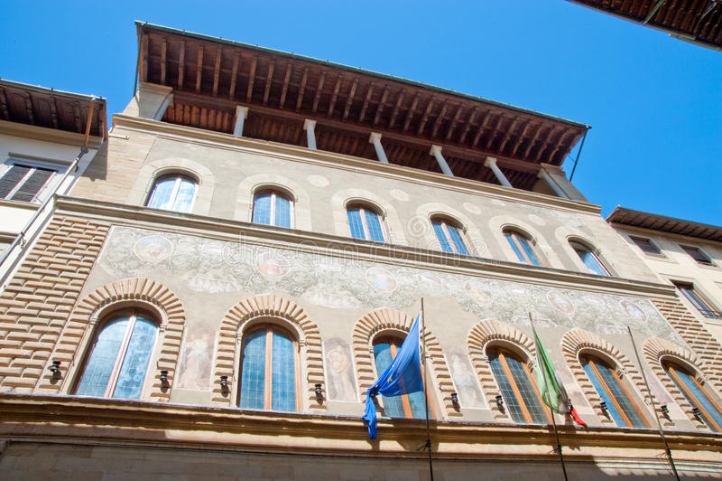 Edificio de Florencia fotos de archivo libres de regalías