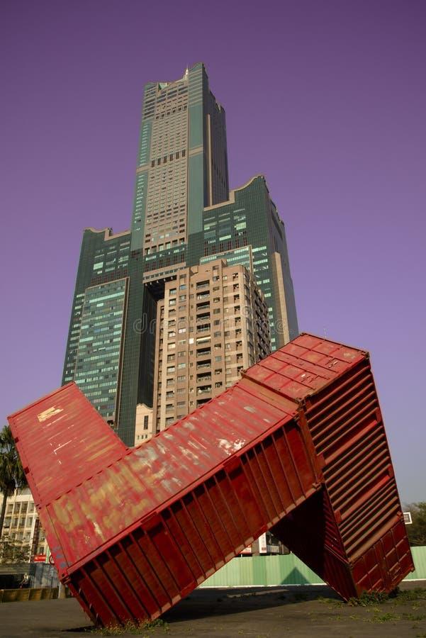 Edificio de Gaoxiong Taiwán 85 foto de archivo libre de regalías