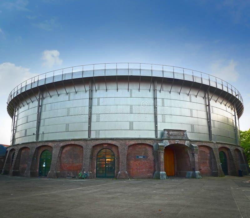 Edificio de Gashouder foto de archivo libre de regalías