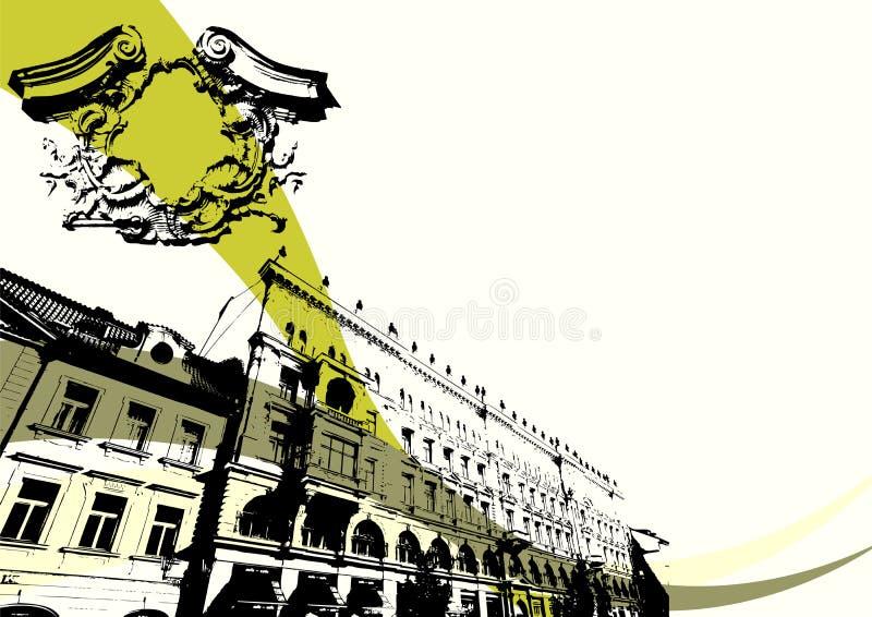 Edificio de Grunge libre illustration