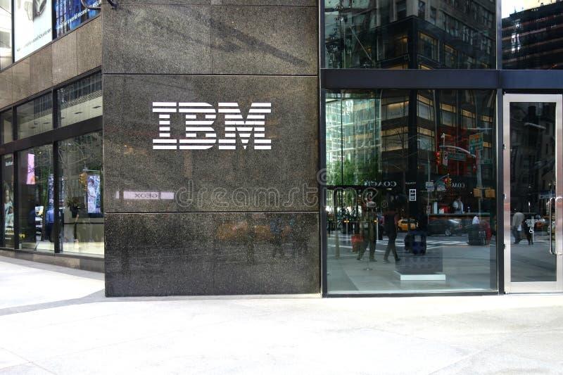 Edificio de IBM fotografía de archivo