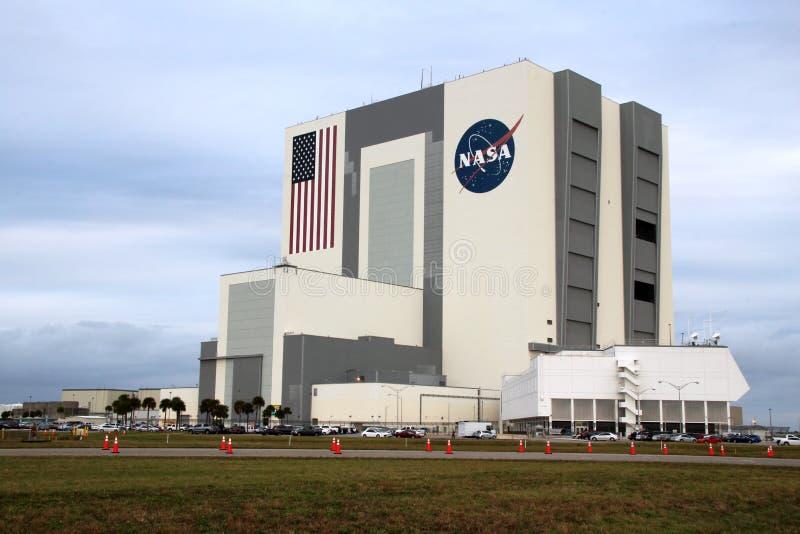 Edificio de Kennedy Space Center Vehicle Assembly imagen de archivo libre de regalías
