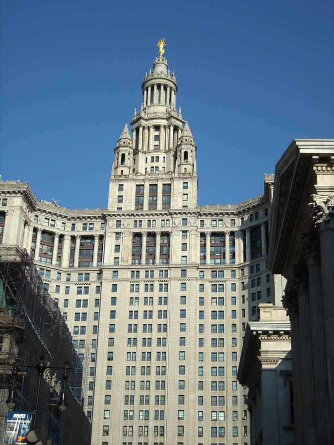 Edificio de la administración, NYC. foto de archivo libre de regalías