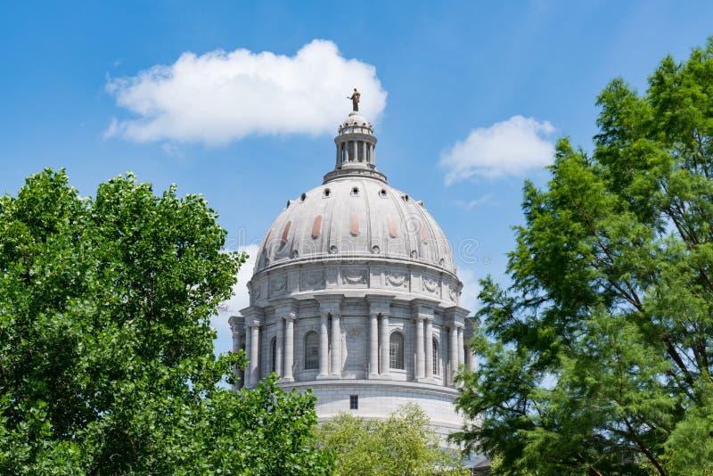 Edificio de la Capital del Estado de Missouri fotos de archivo libres de regalías