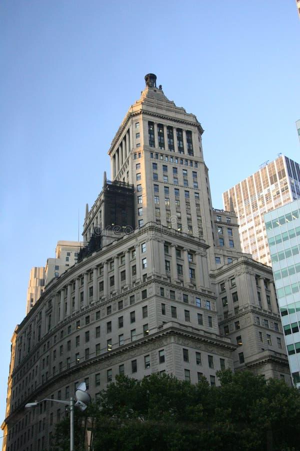 Edificio de la ciudad de NY imagen de archivo libre de regalías