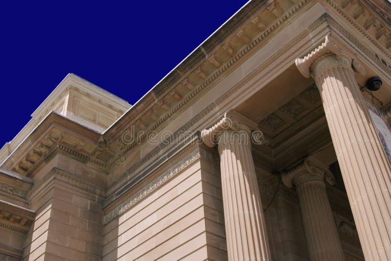 Edificio de la columna foto de archivo libre de regalías