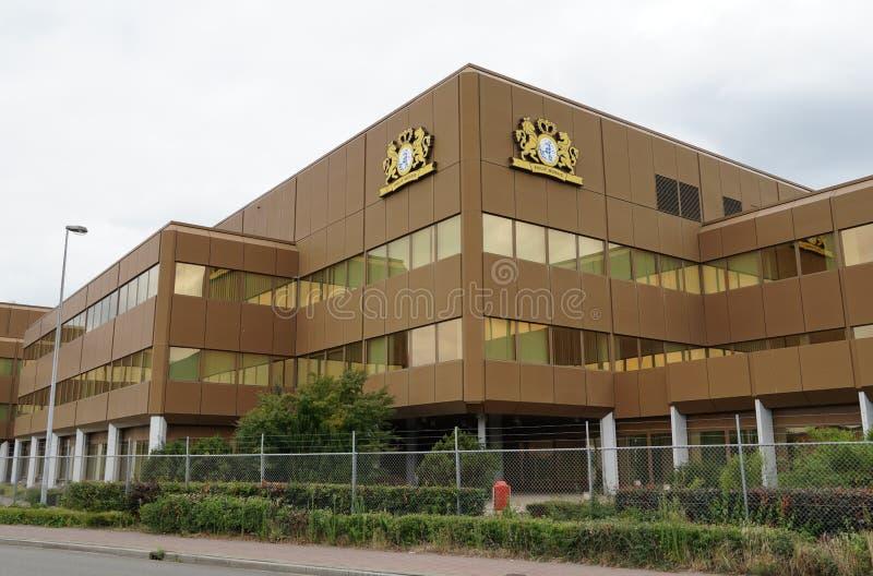 Edificio de la compañía de Philip Morris fotos de archivo libres de regalías