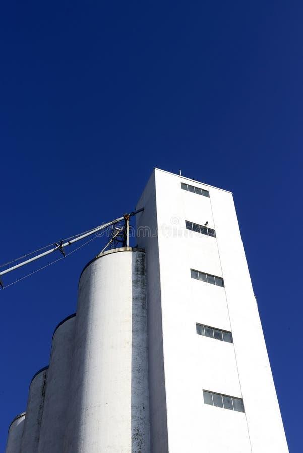 Edificio de la fábrica foto de archivo