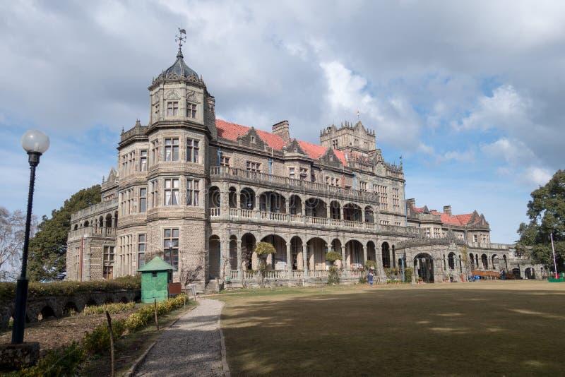 Edificio de la herencia en Shimla imágenes de archivo libres de regalías