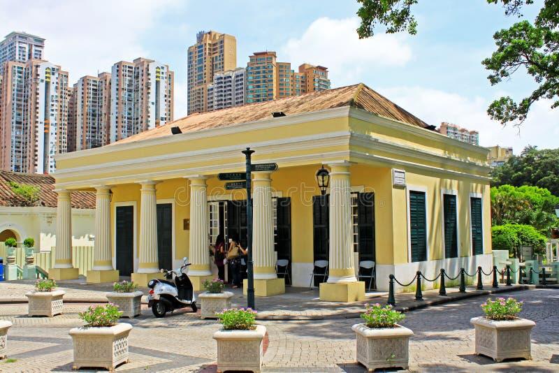 Edificio de la herencia de Taipa, Macao, China fotos de archivo libres de regalías