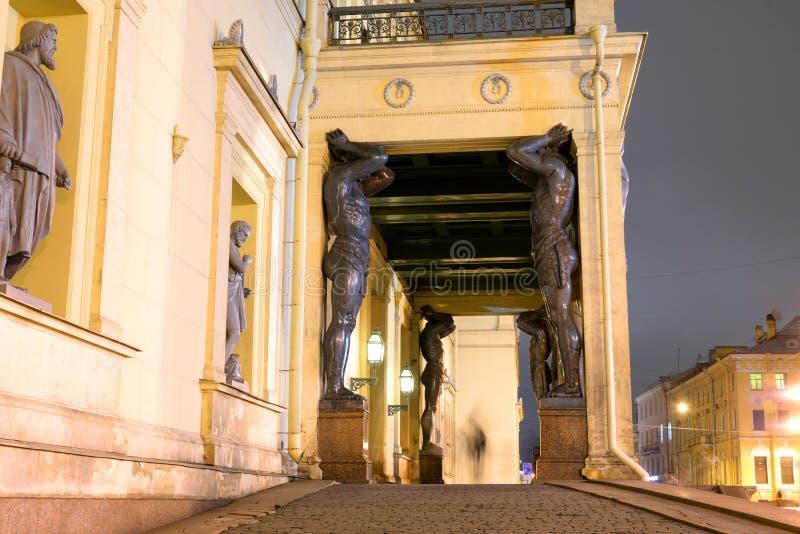 Edificio de la nueva ermita imágenes de archivo libres de regalías