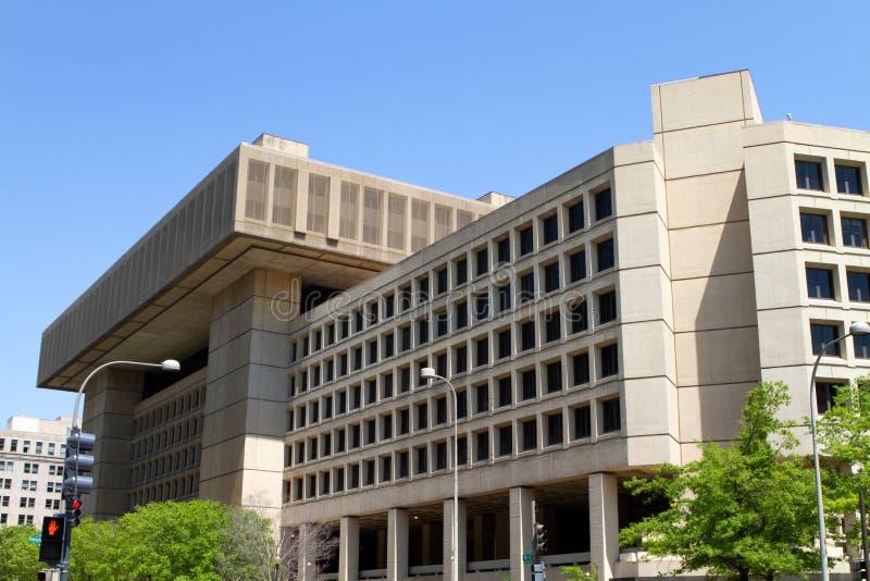 Edificio de la Oficina Federal de Investigación fotos de archivo