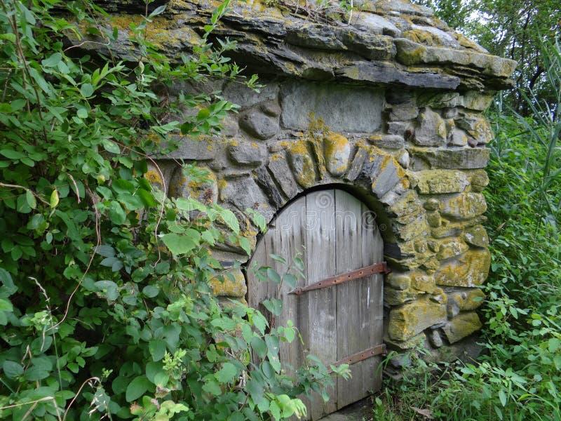 Edificio de la piedra de Coggeshall fotografía de archivo libre de regalías