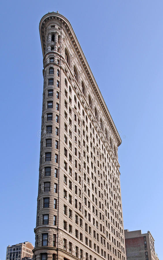 Edificio de la plancha, Nueva York fotos de archivo