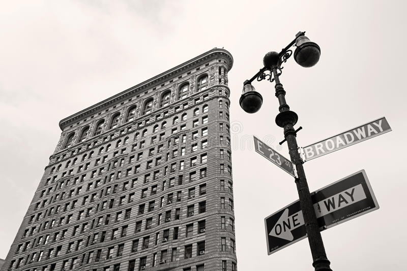 Edificio de la plancha, Nueva York imagen de archivo