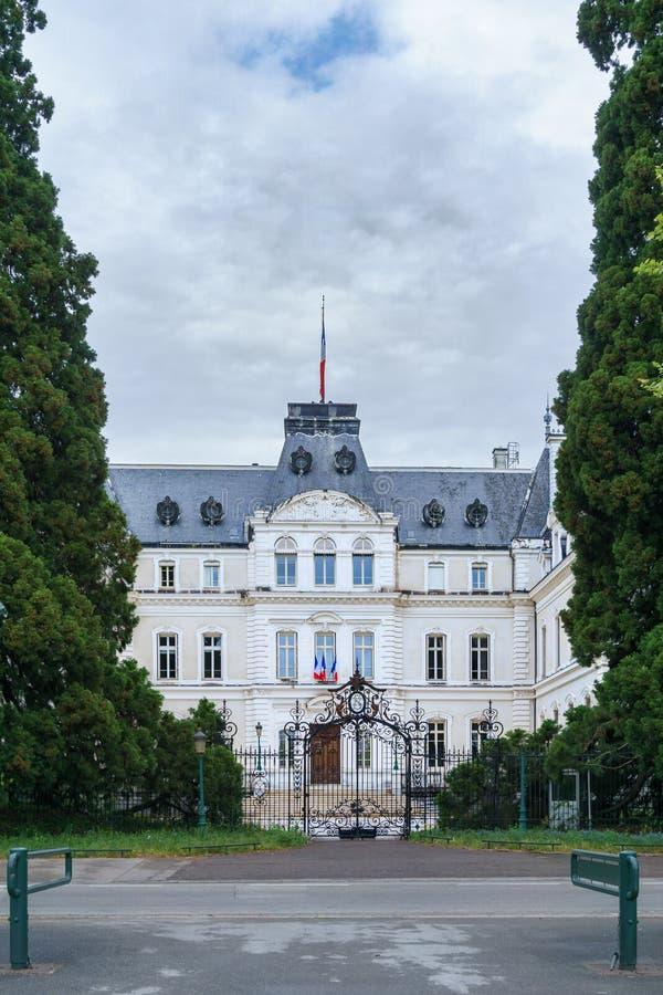 Edificio de la prefectura de Haute Savoie foto de archivo