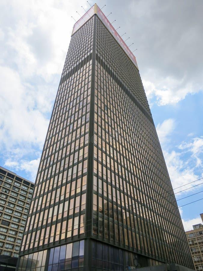 Edificio de la prensa de la ciudad - Johannesburgo imagen de archivo