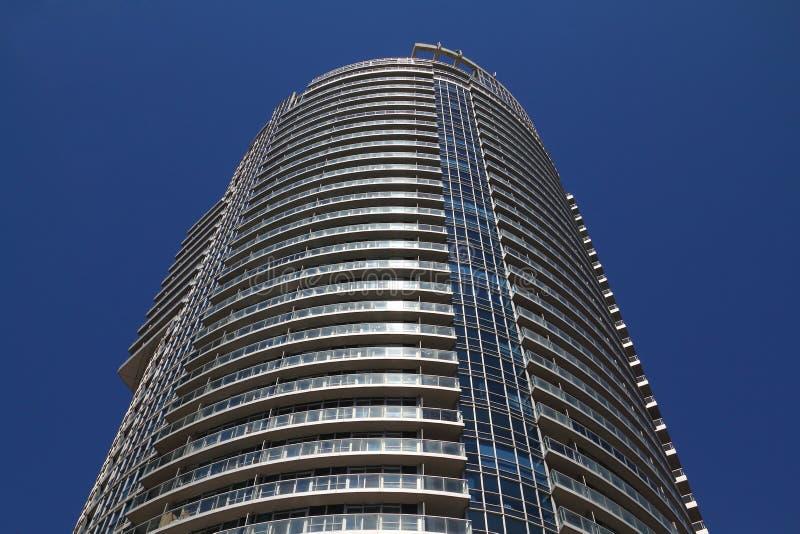 Edificio de la propiedad horizontal de Toronto foto de archivo libre de regalías