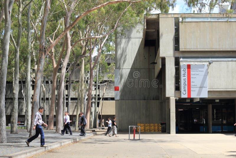 Edificio de la universidad de Macquarie foto de archivo libre de regalías