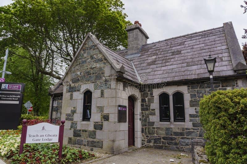 Edificio de la universidad nacional de Irlanda fotografía de archivo