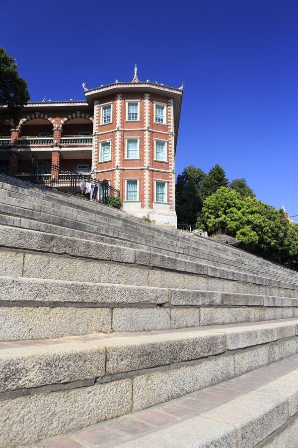 Edificio de Nanxun en ciudad del jimei fotos de archivo