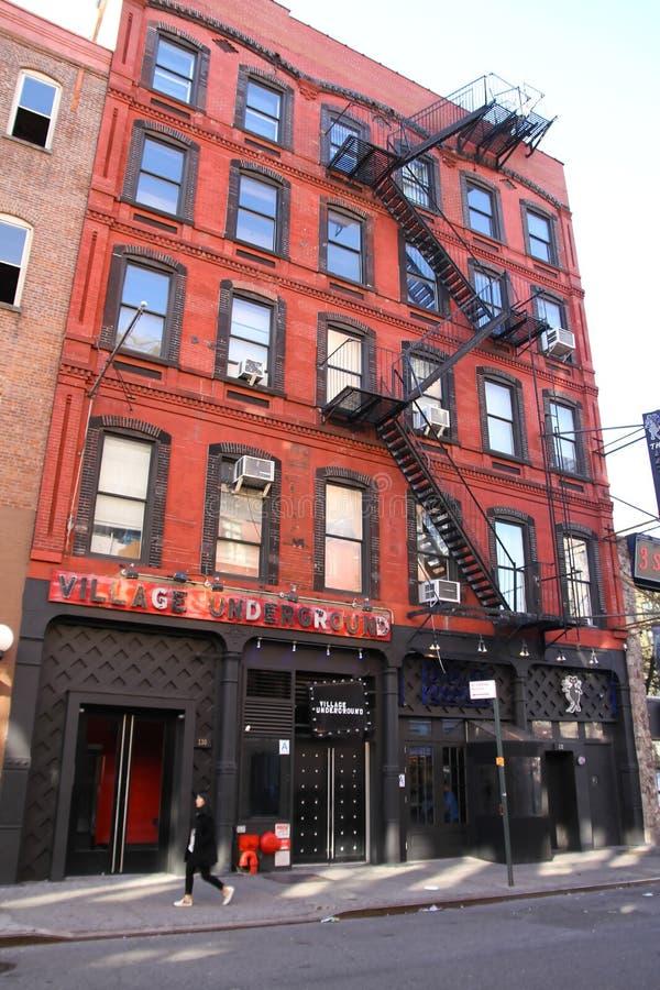 Edificio de Nueva York imagen de archivo libre de regalías
